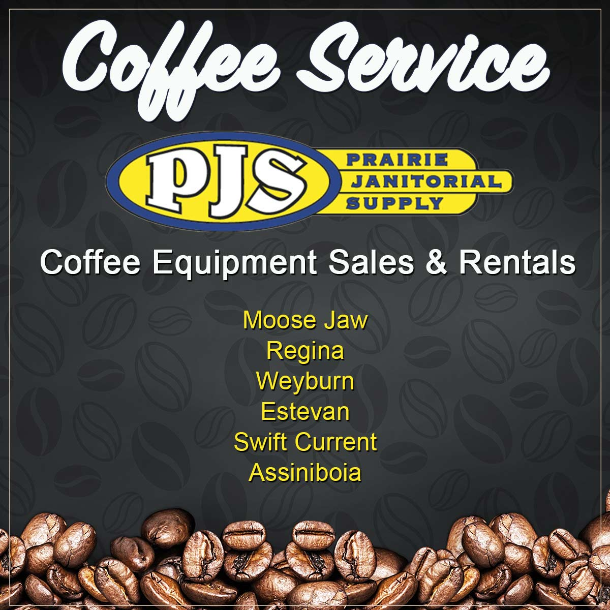 Prairie Janitorial Commercial Coffee Service Moose Jaw Regina Weyburn Estevan Swift Current Assiniboia