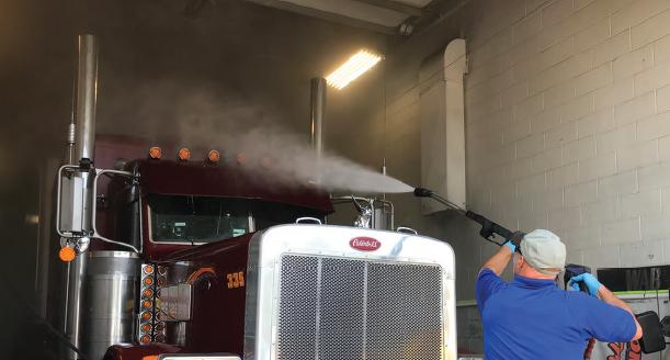 Semi Truck Trailer 18 Wheeler Touchless Wash Soap Detergent Moose Jaw Saskatchewan