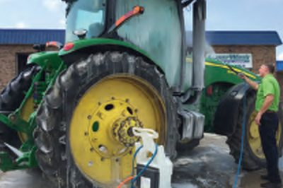 Farm Tractor Agriculture Touchless Wash Degreaser Moose Jaw Saskatchewan